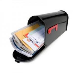 Distributie pliante in cutii postale